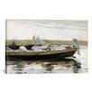 iCanvas 'Boys in a Dory' by Winslow Homer Painting Print on Canvas