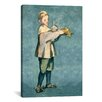 <strong>iCanvasArt</strong> 'Boy Carrying a Tray' by Edouard Manet Painting Print on Canvas