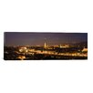 <strong>iCanvasArt</strong> Panoramic Buildings in a City, Ponte Vecchio, Arno River, Duomo Santa Maria Del Fiore, Florence, Tuscany, Italy Photographic Print on Canvas