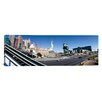 iCanvas Panoramic Buildings in a City, New York New York Hotel, MGM Casino, The Strip, Las Vegas, Clark County, Nevada Photographic Print on Canvas