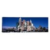 iCanvas Panoramic Buildings in a City, New York Hotel, The Las Vegas Strip, Nevada Photographic Print on Canvas