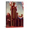 iCanvas 'Abraham Lincoln Delivering the Gettysburg Address' by Norman Rockwell Painting Print on Canvas