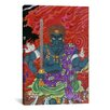 <strong>Acala (fudo) with Sword Japanese Woodblock Graphic Art on Canvas</strong> by iCanvasArt