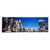 <strong>iCanvasArt</strong> Panoramic Buildings in a City, The Strip, Las Vegas, Nevada Photographic Print on Canvas