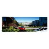 iCanvas Panoramic Cars on a Street, Lombard Street, San Francisco, California Photographic Print on Canvas