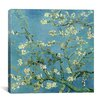 "iCanvas ""Almond Blossom"" Canvas Wall Art by Vincent van Gogh"