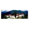 iCanvas Panoramic Castle on a Mountain, Trongsar Dzong, Trongsar, Bhutan Photographic Print on Canvas