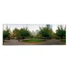 iCanvasArt Panoramic Public Park, Battery Park, New York City Photographic Print on Canvas