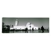 iCanvas Panoramic Cars Parked in front of a Mosque, Jamaa-El-Jedid, Algeria Photographic Print on Canvas