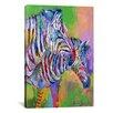 iCanvas 'Zebra' by Richard Wallich Painting Print on Canvas