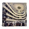 "iCanvas ""Zuschauerraum Im Alten Burgtheater (The Old Burgtheater)"" Canvas Wall Art by Gustav Klimt"
