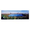 iCanvasArt Panoramic Buildings in a City, Central Park, Manhattan, New York City, New York State Photographic Print on Canvas