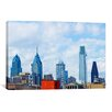 iCanvas Panoramic Buildings in a City, Comcast Center, Center City, Philadelphia, Philadelphia County, Pennsylvania Photographic Print on Canvas