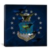 iCanvas Air-Force Flag, Thunderbirds Graphic Art on Canvas