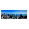 iCanvas Panoramic Buildings in a City, Chicago River, Chicago, Cook County, Illinois Photographic Print on Canvas