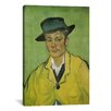 <strong>iCanvasArt</strong> 'Armand Roulin' by Vincent van Gogh Painting Print on Canvas
