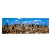 iCanvasArt Panoramic Aerial View of a City, Midtown Manhattan, New York City Photographic Print on Canvas