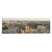 iCanvasArt Panoramic Aerial View of a Baseball Stadium in a City, Oriole Park at Camden Yards Photographic Print on Canvas