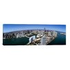 iCanvas Panoramic Aerial View of a City, Miami, Miami-Dade County, Florida 2008 Photographic Print on Canvas