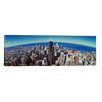iCanvasArt Panoramic Aerial view of Chicago, Illinois Photographic Print on Canvas