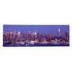 iCanvasArt Panoramic Dusk, West Side, New York City, U.S. Photographic Print on Canvas
