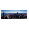 iCanvas Panoramic Aerial View of a City, Chicago River, Chicago, Cook County, Illinois Photographic Print on Canvas