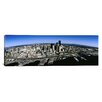 iCanvas Panoramic Aerial View of a City, Seattle, Washington State Photographic Print on Canvas