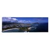 iCanvas Panoramic Aerial View of Ala Moana Beach Park, Waikiki Beach, Honolulu Hawaii Photographic Print on Canvas