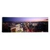 iCanvas Panoramic Aerial View of a City, Paris Las Vegas, the Las Vegas Strip, Las Vegas, Nevada Photographic Print on Canvas