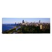 iCanvas Panoramic Aerial View of Skyline Chicago, Illinois Photographic Print on Canvas