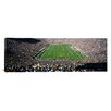 <strong>iCanvasArt</strong> Panoramic Aerial View of a Football Stadium Notre Dame Stadium, Notre Dame, Indiana Photographic Print on Canvas