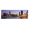 iCanvasArt Panoramic View of The Navy Pier and Skyline, Chicago, Illinois Photographic Print on Canvas