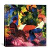 "<strong>iCanvasArt</strong> ""At the Garden Table"" Canvas Wall Art by August Macke"