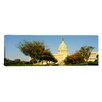iCanvas Panoramic Capitol Building, Washington DC, District of Columbia Photographic Print on Canvas