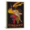 iCanvas Asti Cinzano by Leonetto Cappiello Vintage Advertisement on Canvas