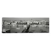 iCanvas Panoramic Chain Bridge over the Danube River, Budapest, Hungary Photographic Print on Canvas
