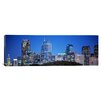 iCanvas Panoramic Night, Philadelphia, Pennsylvania Photographic Print on Canvas