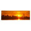 iCanvasArt Panoramic New York City Photographic Print on Canvas