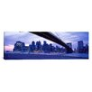 iCanvas Panoramic Brooklyn Bridge, New York Photographic Print on Canvas
