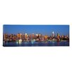 iCanvasArt Panoramic New York City New York State Photographic Print on Canvas