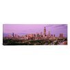 iCanvas Panoramic View of a Cityscape at Twilight, Chicago, Illinois Photographic Print on Canvas