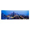 iCanvas Panoramic Evening in Atlanta, Atlanta, Georgia Photographic Print on Canvas