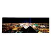 iCanvas Panoramic Las Vegas from Mandalay Bay Resort and Casino, Nevada Photographic Print on Canvas