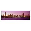 iCanvas Panoramic Skyline at Sunset, Chicago, Illinois Photographic Print on Canvas