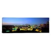 <strong>iCanvasArt</strong> Panoramic Kansas City, Missouri Photographic Print on Canvas