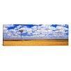 iCanvas Panoramic Windmill Wheat Field Othello, Washington Photographic Print on Canvas