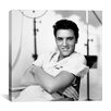 <strong>iCanvasArt</strong> 1950's Publicity Shot (Elvis Presley) Canvas Wall Art