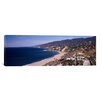 iCanvasArt Panoramic Highway 101, Malibu Beach, Malibu, California Photographic Print on Canvas