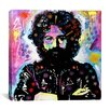 "iCanvas ""Jerry Garcia"" Canvas Wall Art by Dean Russo"