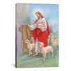 iCanvasArt 'Jesus Sheperd' by Christo Monti Painting Print on Canvas
